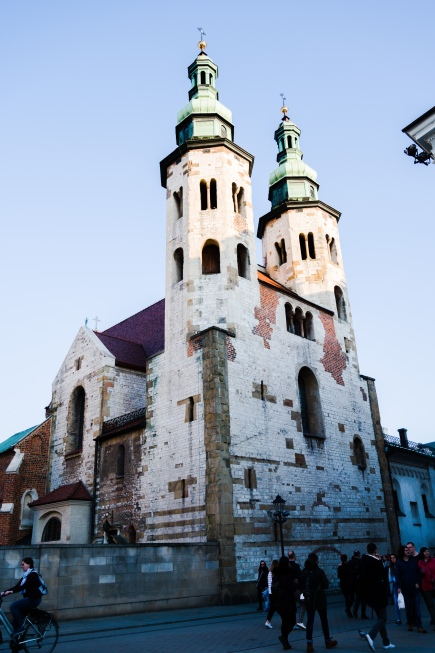 A Church in Kraków  Old Town