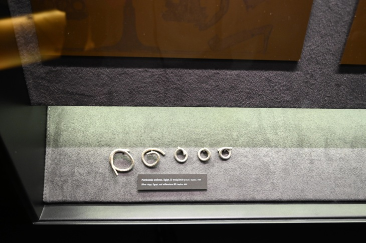 Silver rings from Egypt.