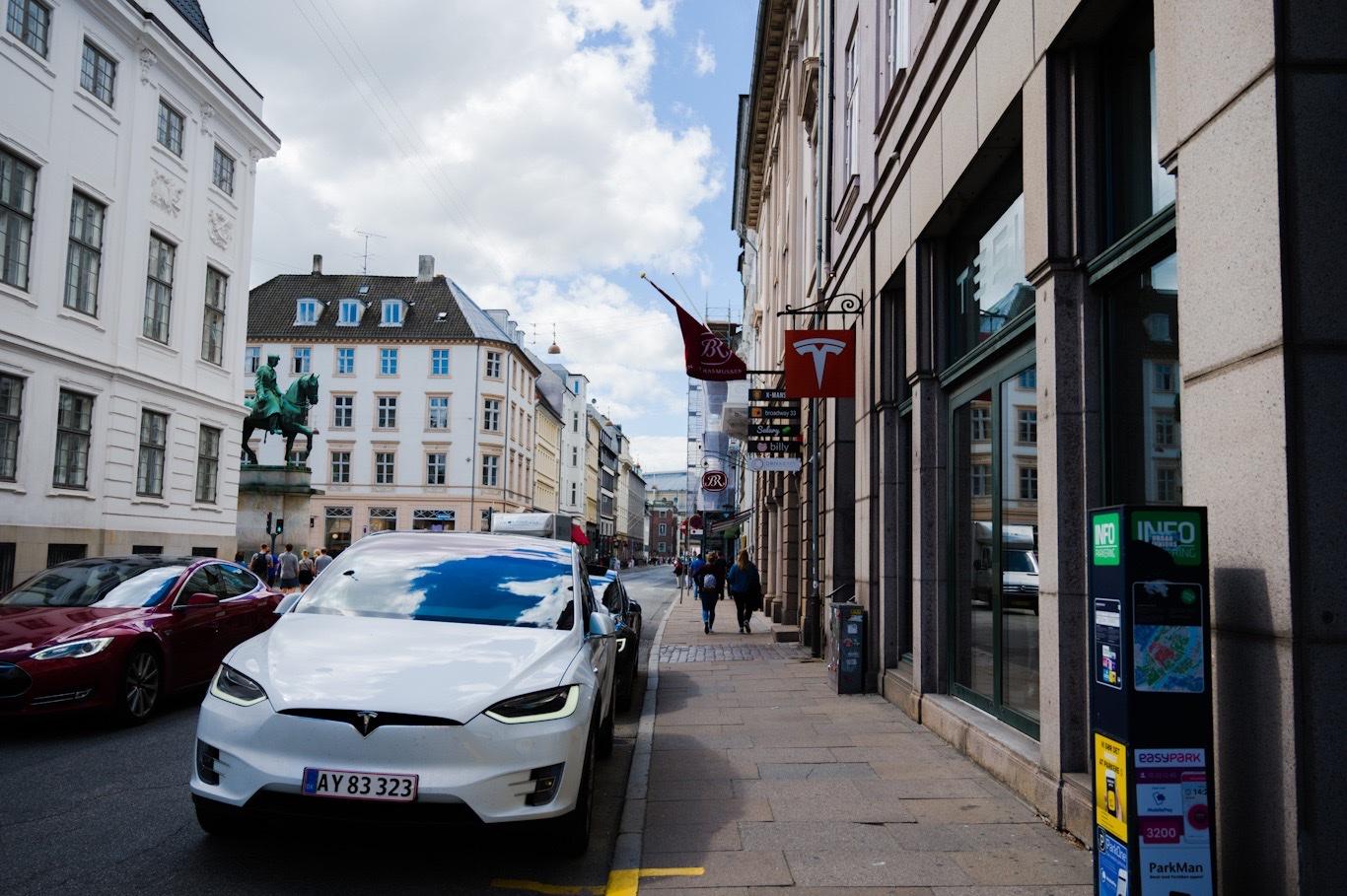 Tesla in Copenhagen