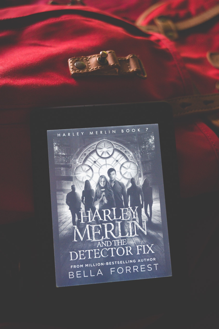 Book Review Harley Merlin And The Detector Fix The Girl With The Red Backpack Harley merlin has a lot of unanswered questions in her life. harley merlin and the detector fix